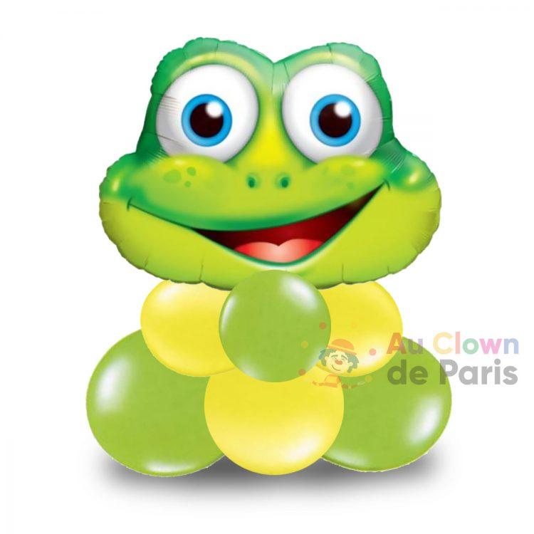 Ballon grenouille gonflé à l'air