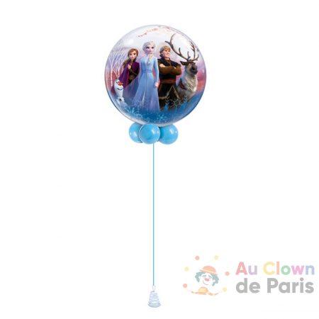 Ballon hélium Reine des Neiges