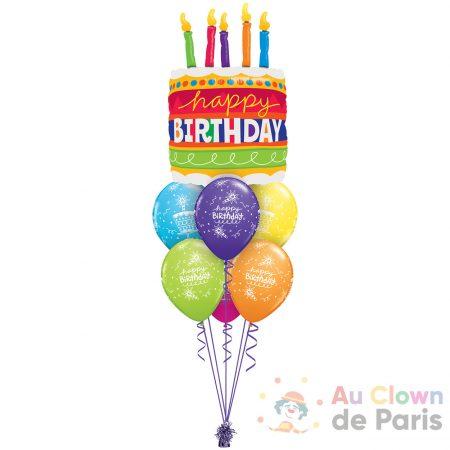 Ballons Gâteau d'anniversaire