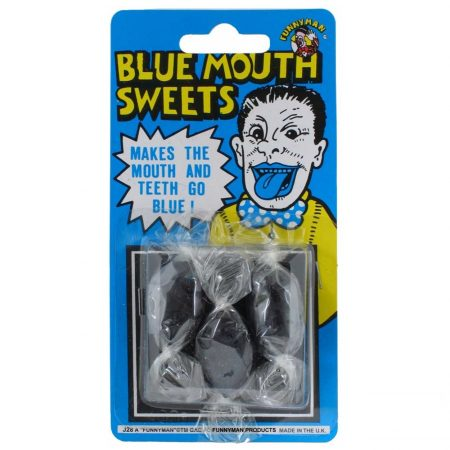 farce bonbon bouche bleue