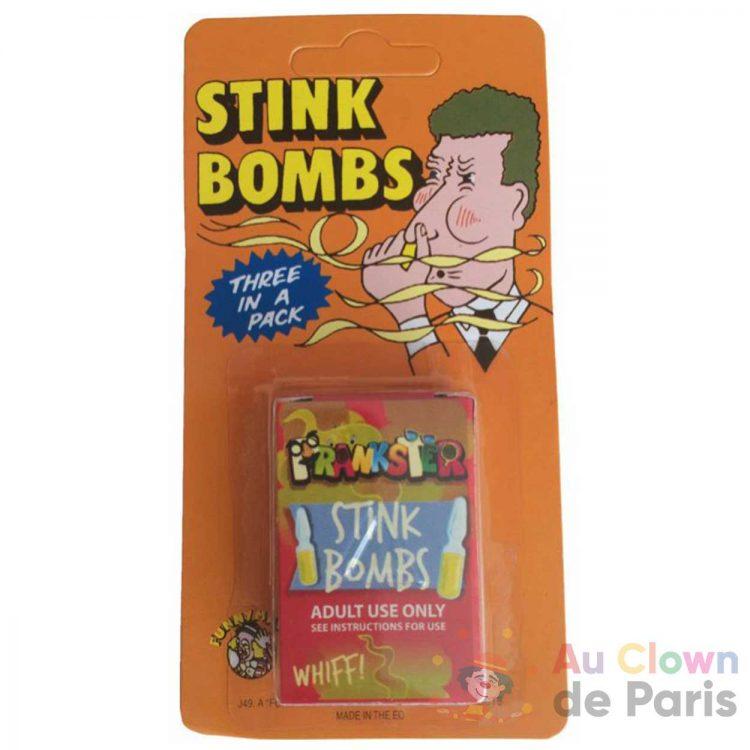 bombe puantes farce et attrape