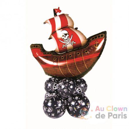 Bouquet de ballons à poser Pirate