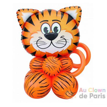 Bouquet de ballons à poser Tigre