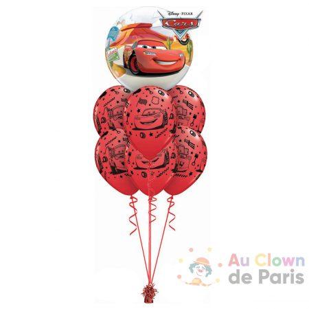 Bouquet de ballons géant hélium Cars