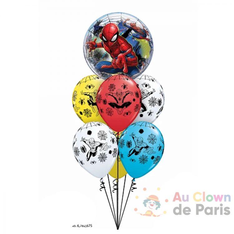 Bouquet de ballons géant hélium Spiderman