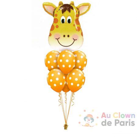 Bouquet de ballons Girafe