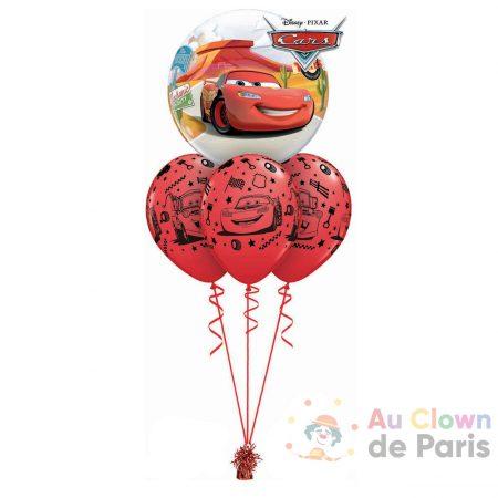Bouquet de ballons hélium Cars