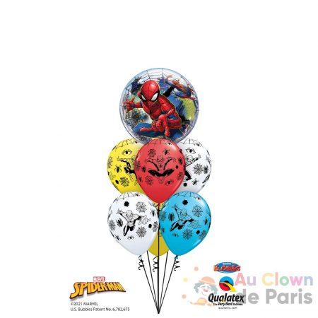bouquet bubble spiderman
