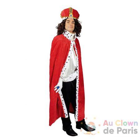 déguisement cape roi