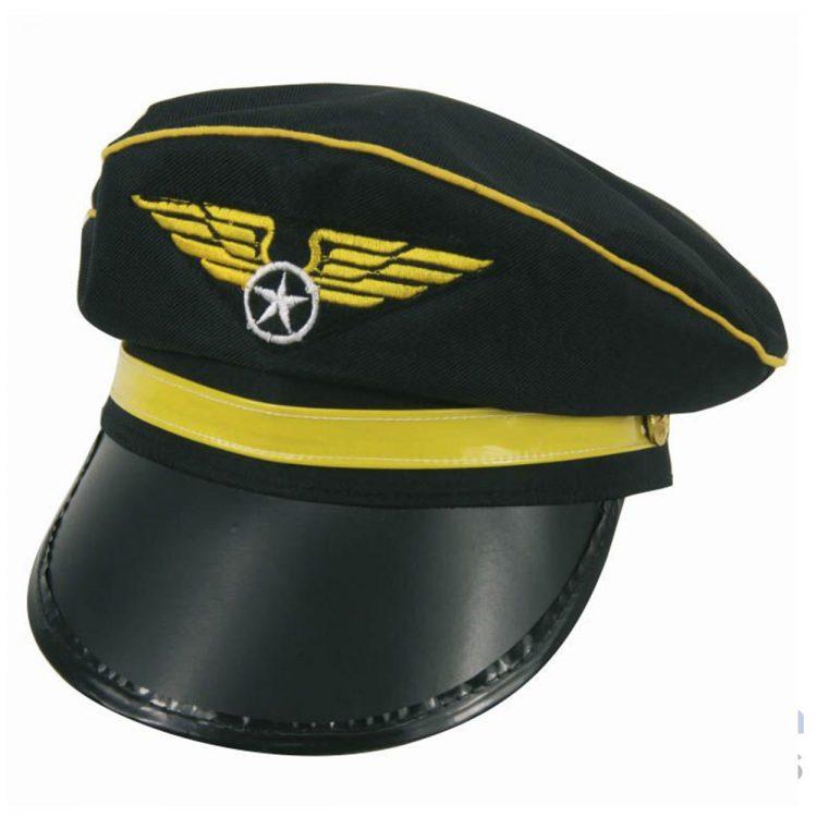 casquette pilote