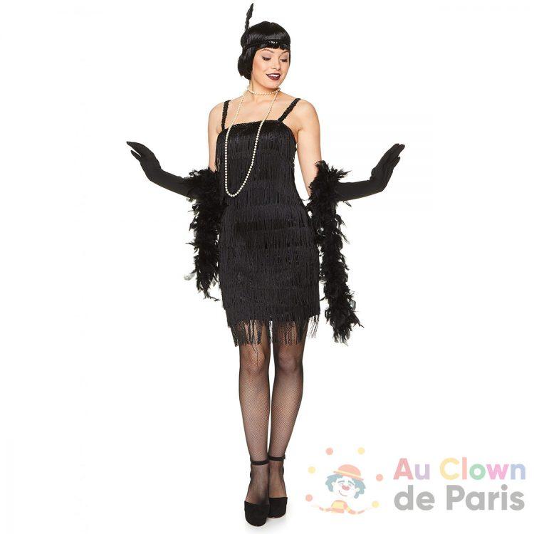 Déguisement charleston robe noire
