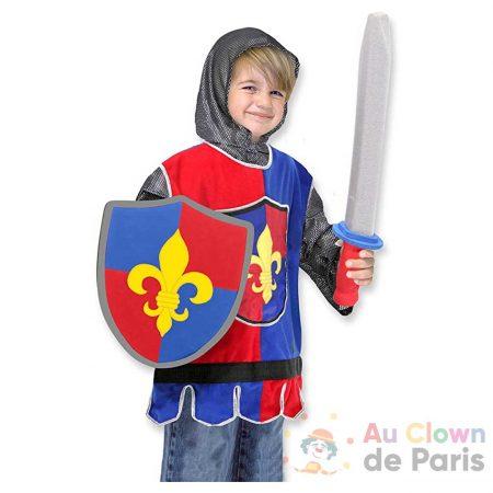 déguisement chevalier enfant