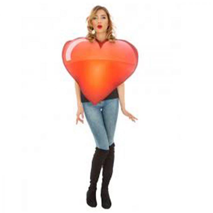 déguisement emoji coeur