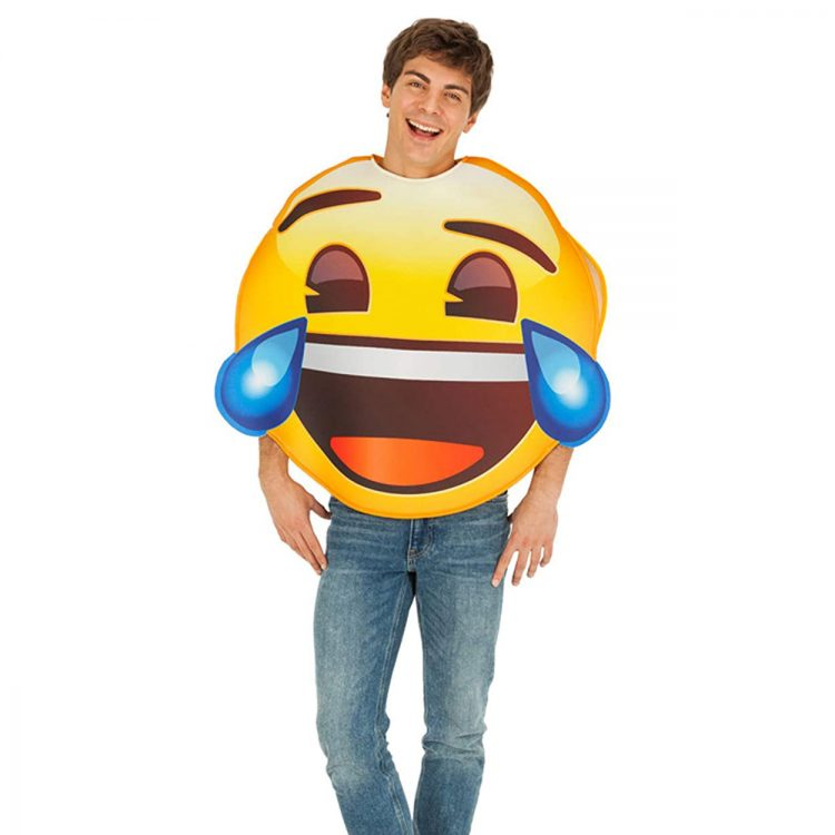 emoji fou rire
