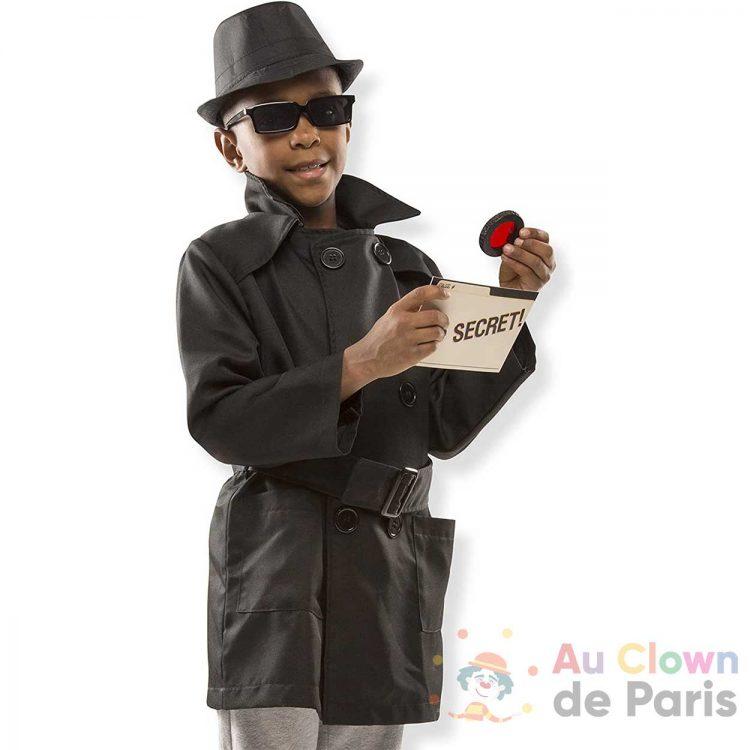 déguisement espion enfant