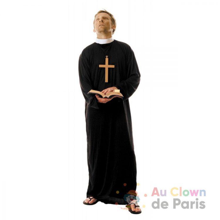 Déguisement prêtre paris