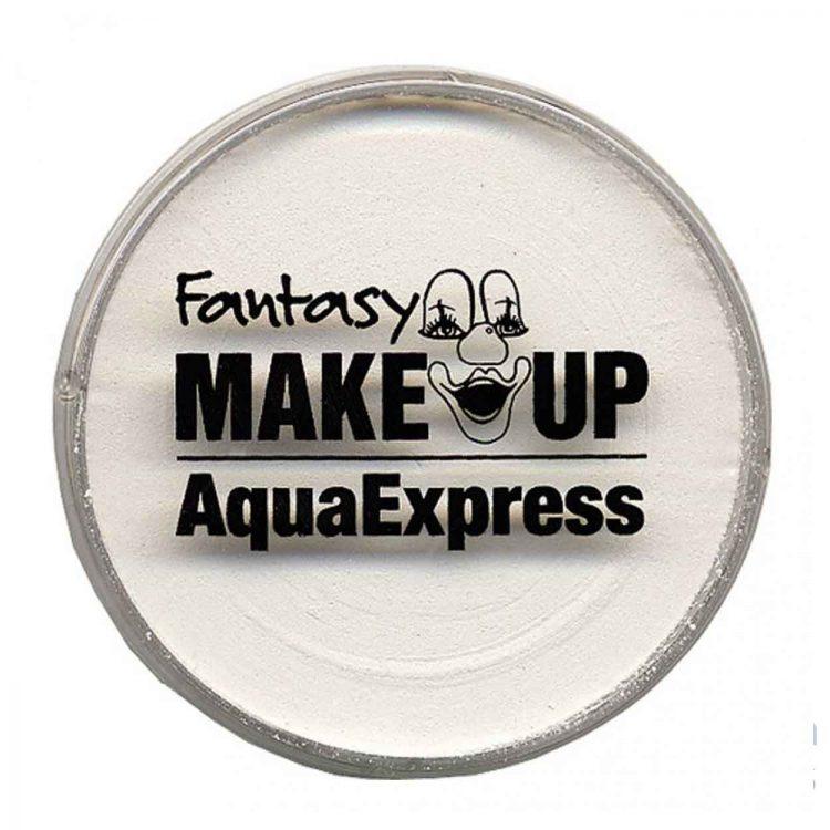 maquillage fard à l'eau blanc