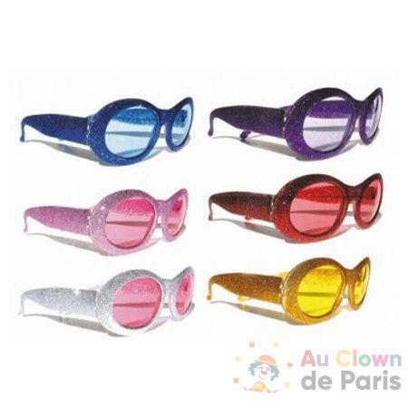 accessoire lunette à paillettes