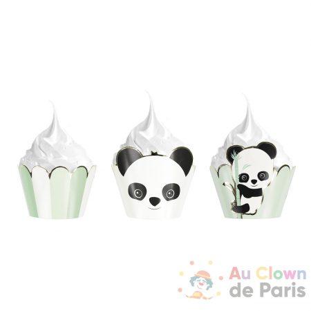 caissettes cupcakes bébé panda