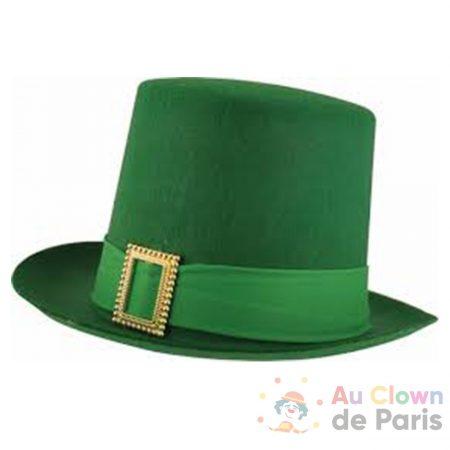 chapeau haut forme saint patrick