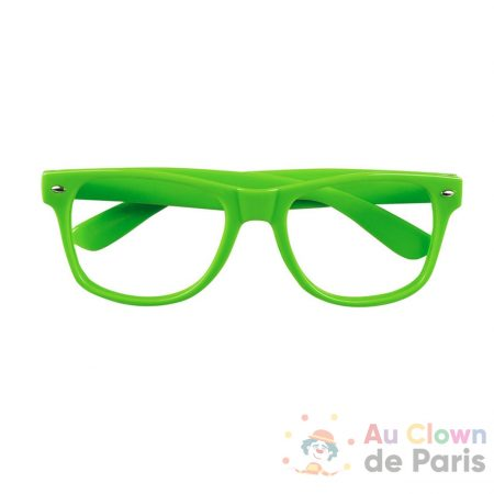 lunette fluo verte
