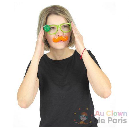 lunette saint patrick moustache