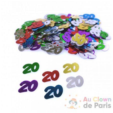 confetti 20 multicolore