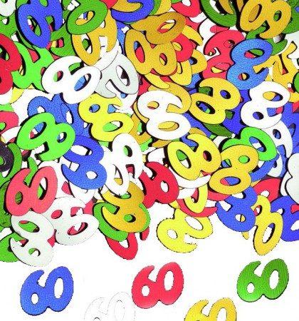 confetti 60 multicolore