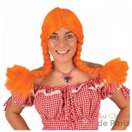 perruque orange couette