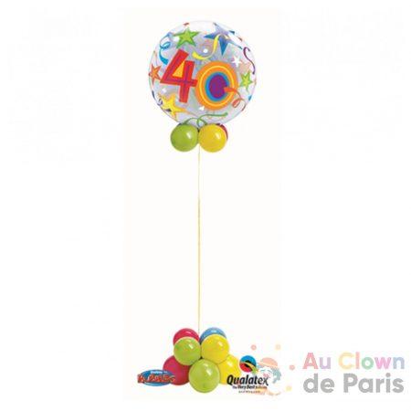 colonne ballon Bubble 40