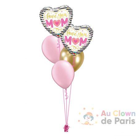 Ballon fête des mères Paris