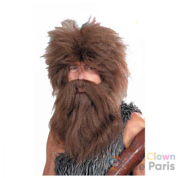 perruque homme de caverne