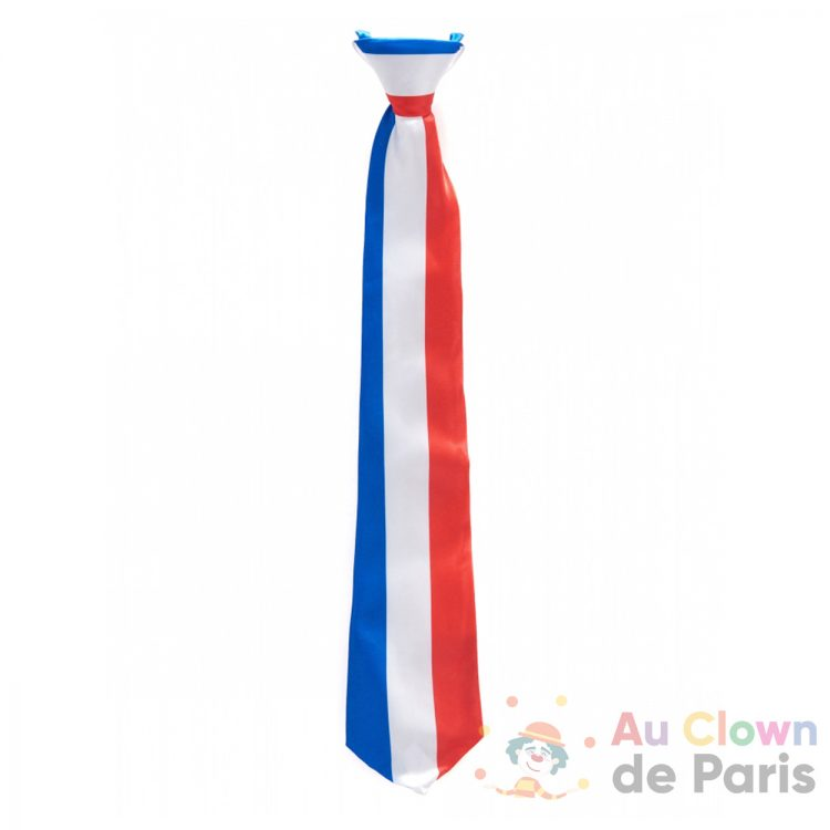 cravate bleu blanc rouge