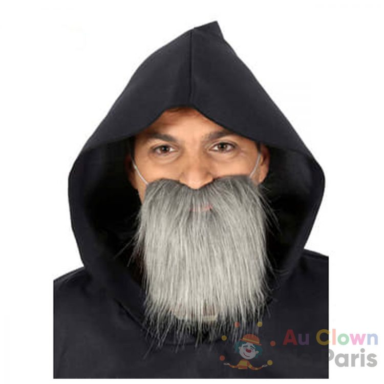barbe hipster grise