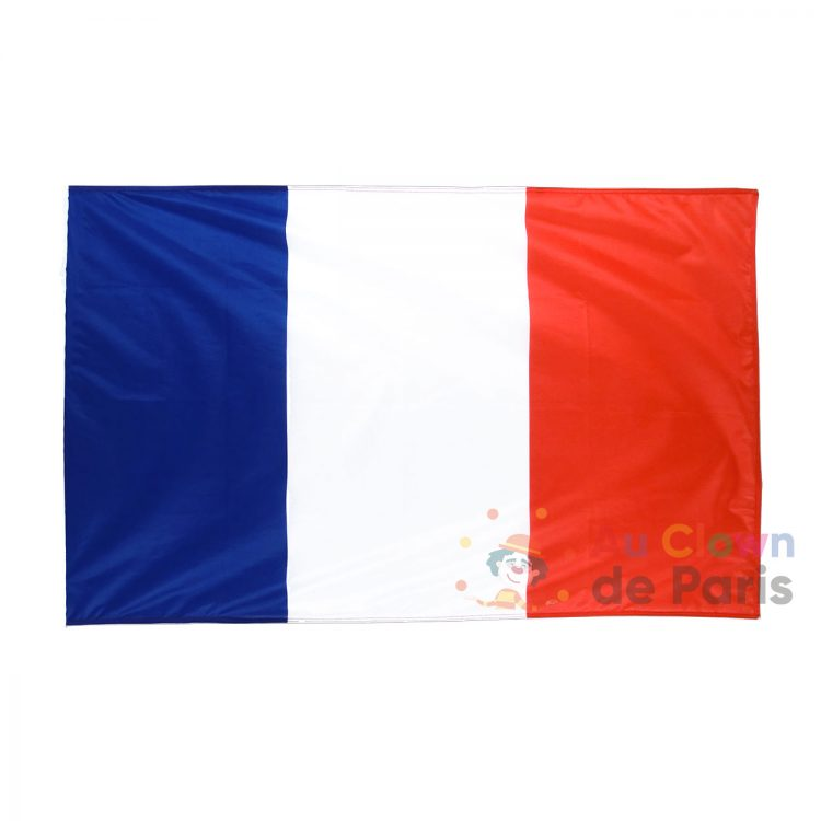 Drapeau bleu blanc rouge France