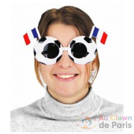 lunette football drapeau france