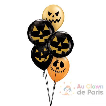 ballon hélium Halloween Paris